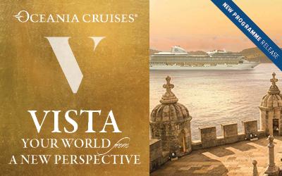 Oceania - Brand New Ship, Vista