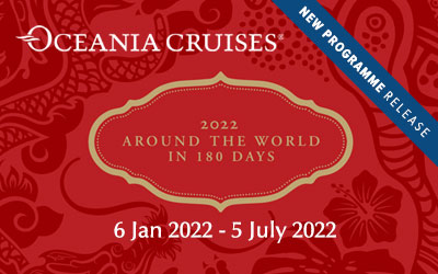 Oceania Cruises - 2022 World Cruise