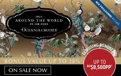 Oceania Cruises - 2023 World Cruise