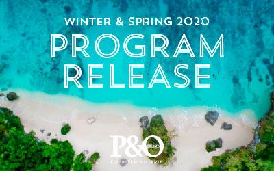 P&O - 2020 Program Release