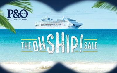 P&O Oh Ship Sale