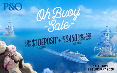 P&O Cruises - Oh Buoy Sale (Value Fare)