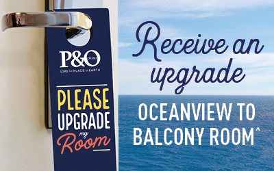 P&O - Room Upgrades Sale (Value Fare)