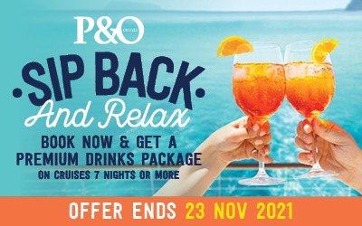 P&O - Sip Back & Relax