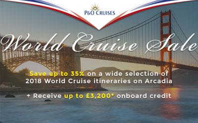 P&O World Cruise Sale
