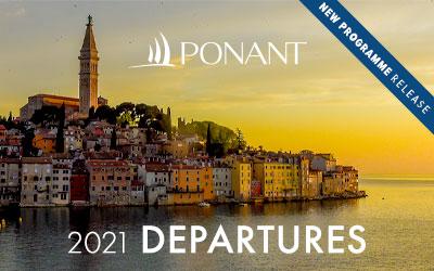 Ponant - NEW 2021 Departures