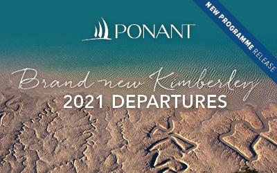PONANT - BRAND NEW Kimberley 2021