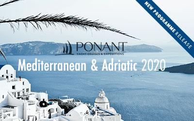 Ponant - 2020 Med & Adriatic