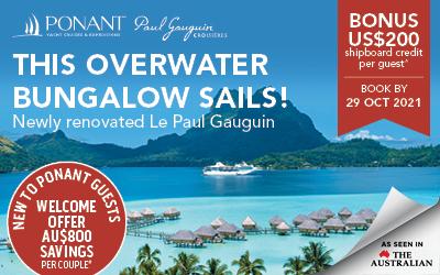 PONANT - NEW Le Paul Gauguin Tahiti 2023