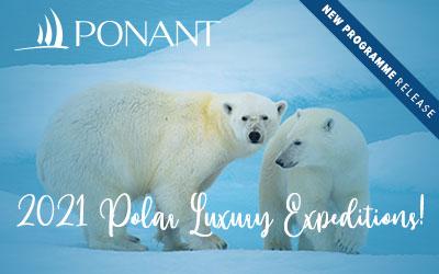 Ponant - Polar Luxury Expedition 2021