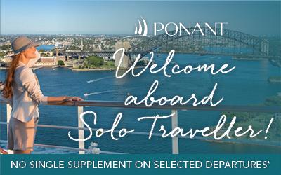 PONANT - Solo Traveller Offer