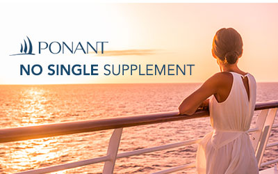 Ponant - No Single Supplement
