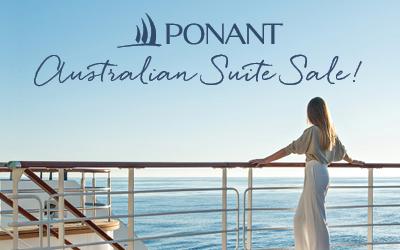 PONANT - Australian Suite Sale