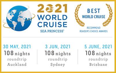Princess 2021 - Sea Princess World Cruise