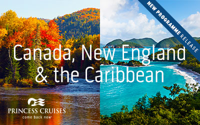 Princess - 2021 Canada, New England & Caribbean