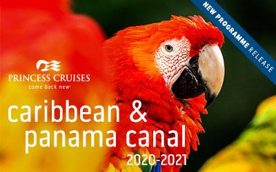Princess - NEW Caribbean & Panama Canal 2020/21