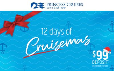 Princess Cruises - Cruisemas Sale