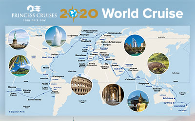 Princess Cruises 2020 World Cruise