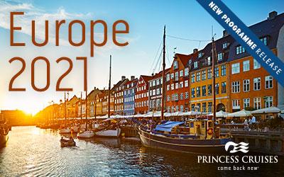 Princess - Europe 2021