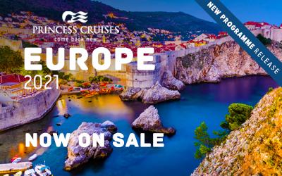 Princess Cruises - Europe 2021 Release