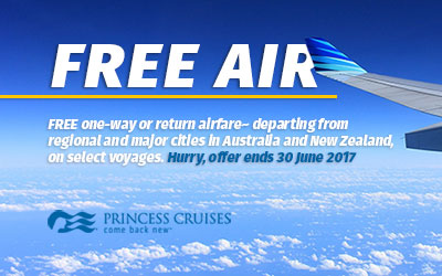Princess Free Air Offer