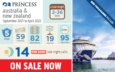 Princess Cruises - 21/22 Australia & New Zealand