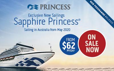 Princess Cruises - NEW Sapphire 2020