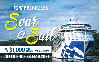 Princess - Soar & Sail Offer