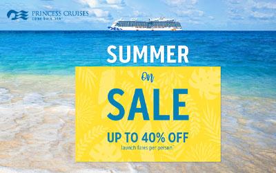 Princess Cruises - Summer on Sale