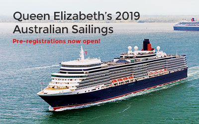 Queen Elizabeth 2019 Australia Sailings