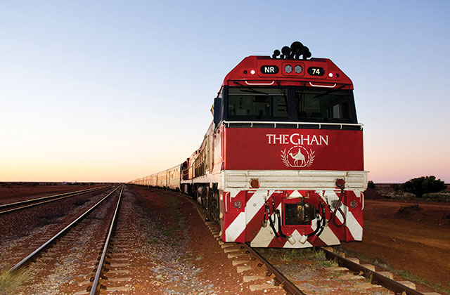 RAIL & SAIL: Sydney to Singapore Journey & the Ghan