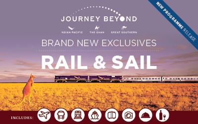 Rail & Sail - Great Southern Rail Exclusives