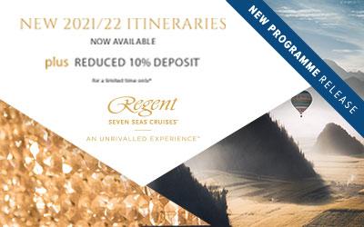 Regent Seven Seas - 2021/22 Itineraries