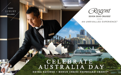 Regent Seven Seas - Australia Day Sale