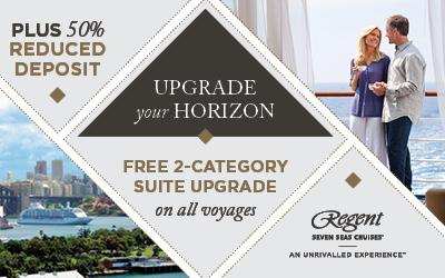 Regent Seven Seas - Upgrade in Europe