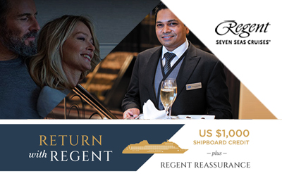Regent Seven Seas - Reassurance & Return Offer