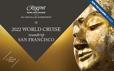 Regent Seven Seas - Pacific World Voyage 2022