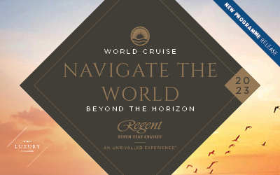 Regent Seven Seas - Navigate the World 2023