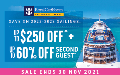 Royal Caribbean - Up to 60% off Second Guest