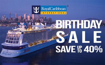 Royal Caribbean Birthday Sale