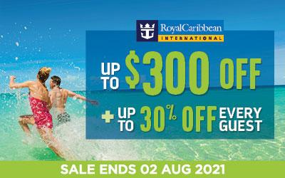 Royal Caribbean - Super Splash Sale!