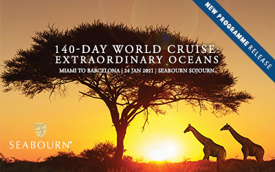 Seabourn - 2021 World Cruise - Extraordinary Oceans