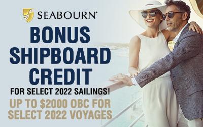 Seabourn - Bonus Onboard Spending Money!