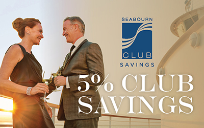Seabourn - 5% Club Savings