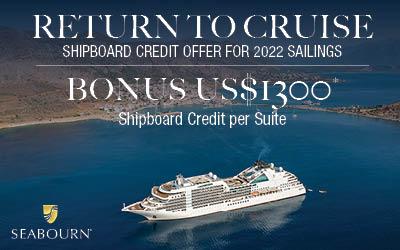 Seabourn - Return to Cruise