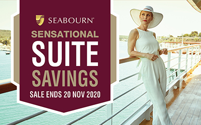 Seabourn - Sensation Suite Savings Sale