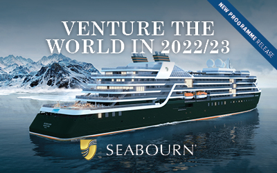 Seabourn - Venture the World in 2022/23