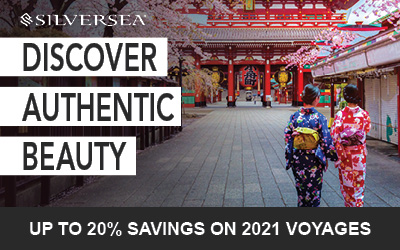 Silversea - 20% Savings on 2021 Voyages