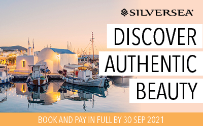 Silversea - 20% Savings on 2022 & 2023