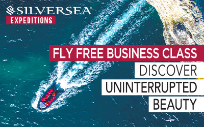 Silversea - FLY FREE Business Class Offer
